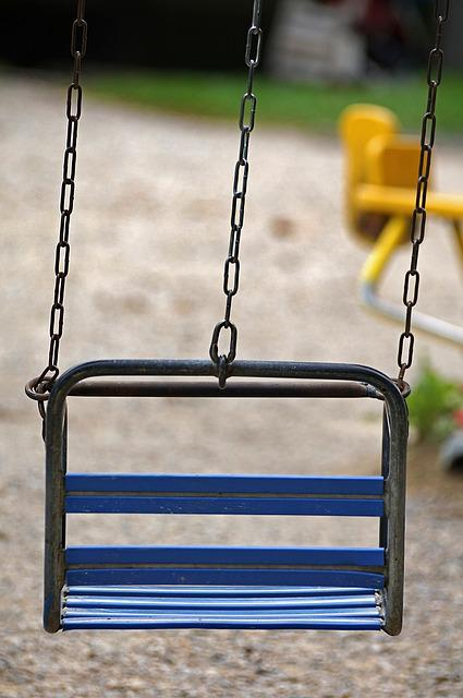 Swing, Carousel, Turn, Pleasure, Fun, Leisure, Colorful