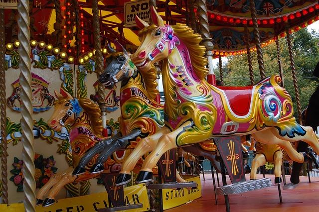 Merry Go Round, Fair, Carousel