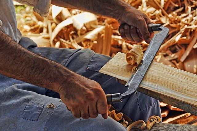 Wood Working, Plane, Carpentry, Wood, Carpenter, Work