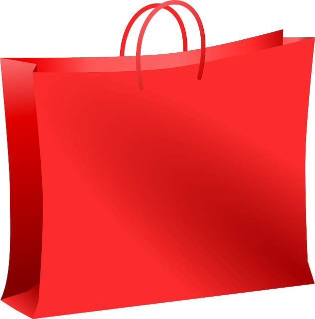 Bag, Mall, Red, Shopping, Carryout Bag, Carrier Bag