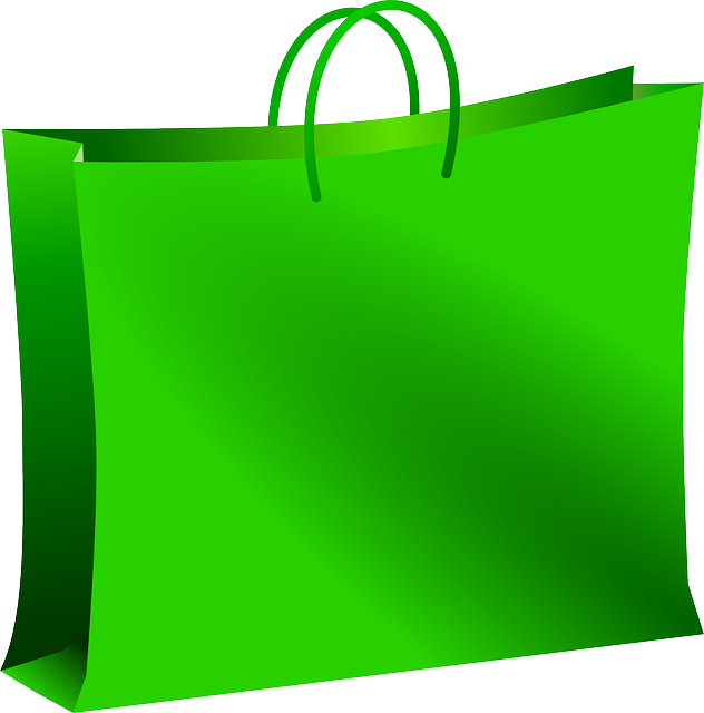 Bag, Green, Mall, Shopping, Carryout Bag, Carrier Bag