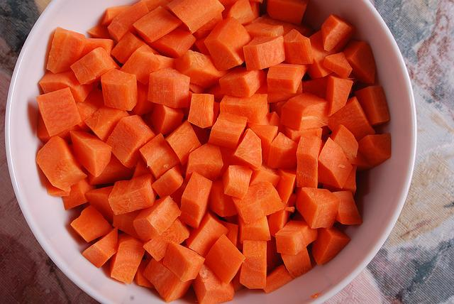 Carrots, Carrot, Diced, Diced Carrots, Vegetables