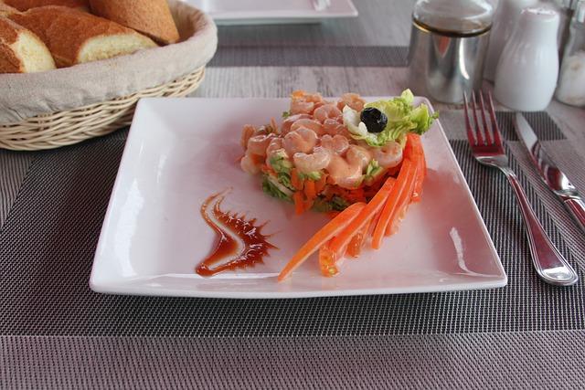 Shrimp, Lawyer, Tomato, Carrot, Salad