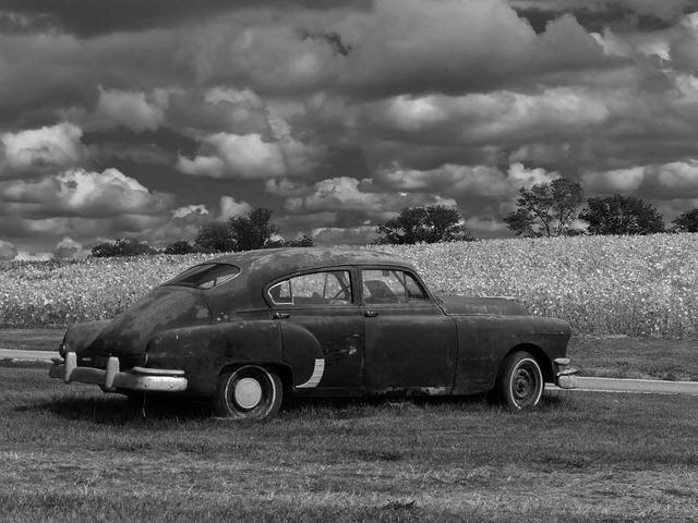 Automobile, Car, Cars, Antique, Auto, Pontiac, Vintage