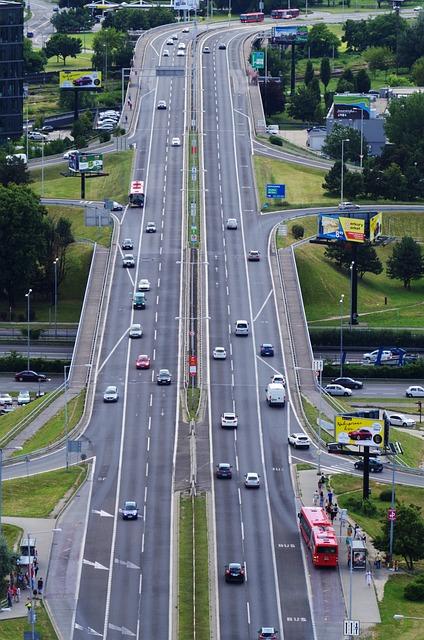 Bratislava, Slovakia, Path, Cars, City