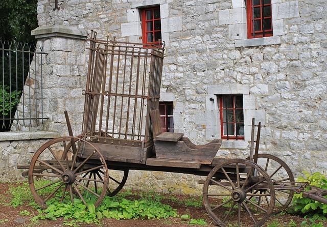Cart, Dare, Train Car, Cage, Cage Of Fools, Coach