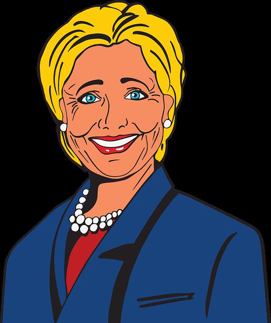 Cartoon, Celebrity, Comic, Female, Hillary Clinton