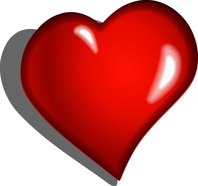 Heart, Red, Emotional, Cartoon, Romance, Love, Emotion