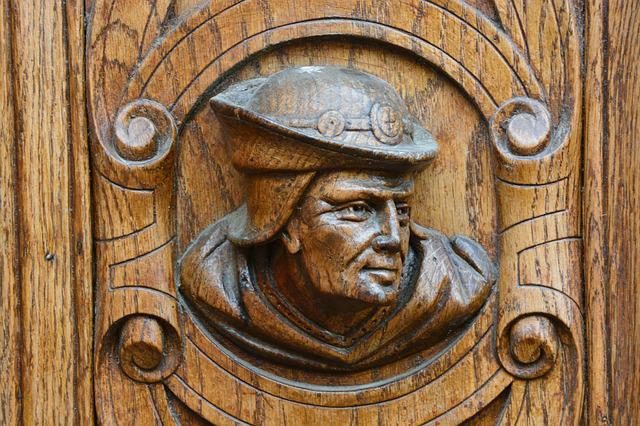 Wood Carving, Door, Carved Figurine, Sculptor, Former