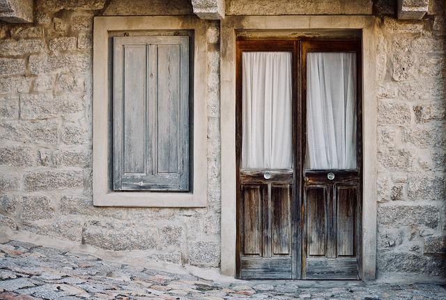 Casa Antica, House, Wood, Door, Window, Architecture