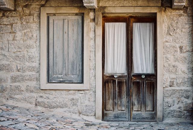 Casa Antica, House, Wood, Door, Window, Architecture