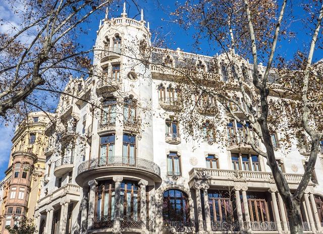 Barcelona, Spain, Architecture, Casa Fuster Hotel
