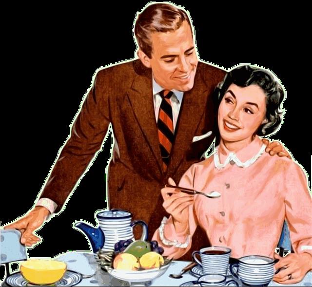 Casal, Love, Romantic, Happy Couple, Vintage