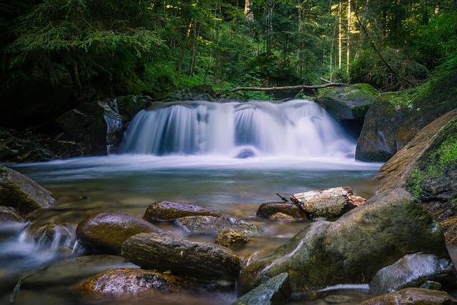 Waterfall, River, Nature, Landscape, Creek, Cascade