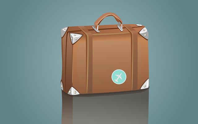 Suitcase, Briefcase, Travel, Bag, Case, Luggage