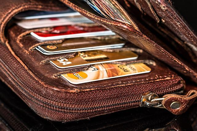 Wallet, Credit Cards, Cash, Money, Payment, Shopping