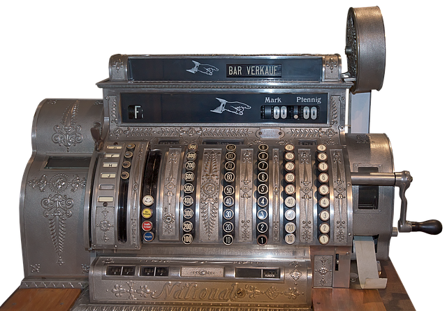 Cash Machines, Historically, Old Checkout