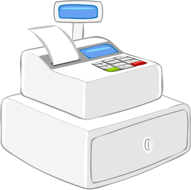 Register, Cash Register, Modern, Commercial, Machine