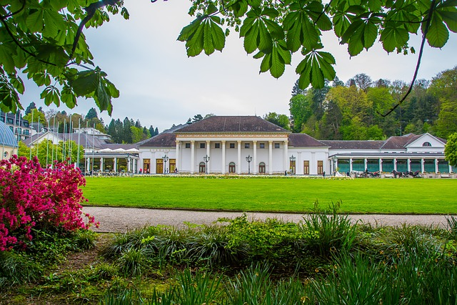 Baden Baden, Kurhaus, Casino, Promenade, Spa
