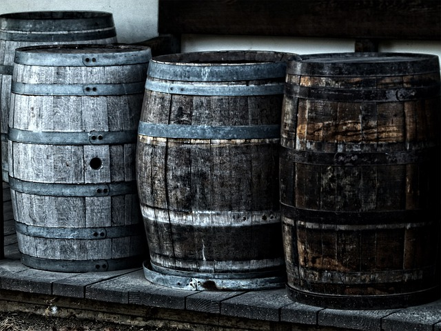 Barrels, Kegs, Casks, Wine Containers
