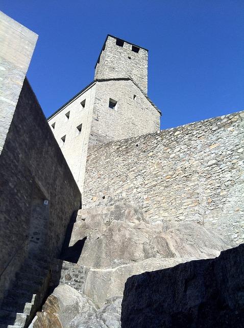 Castelgrande, Bellinzona, Castle, Bulwark, Architecture