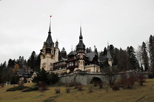 Castelul Peles, Sinaia, Romania, Peles Castle, Castle