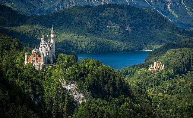 Kristin, Castle, Bavaria, Allgäu, Germany, Fairy Castle