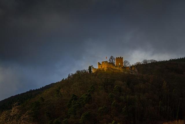 Castle, Landeck, Architecture, Sachsen, Middle Ages