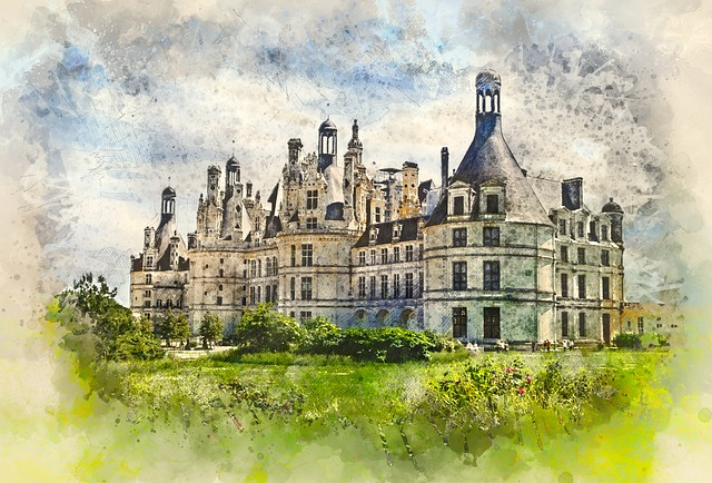Old French Castle, Architecture, Building, Old, Castle