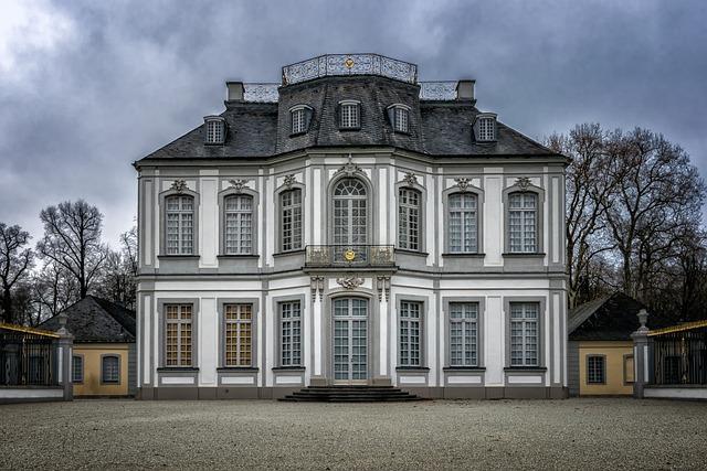 Castle, Baroque, Rococo, Architecture