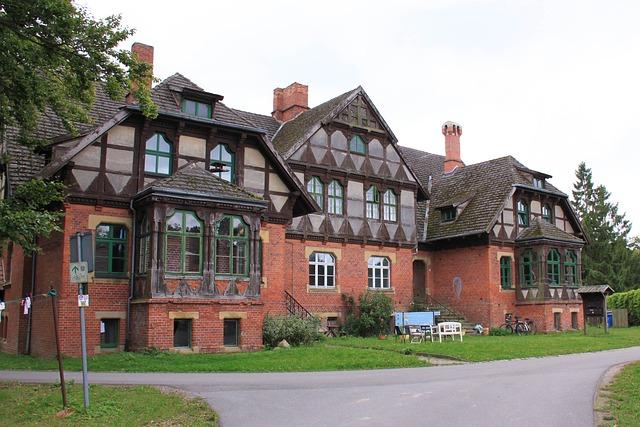 Truss, Home, Castle, Wiligrad, Architecture