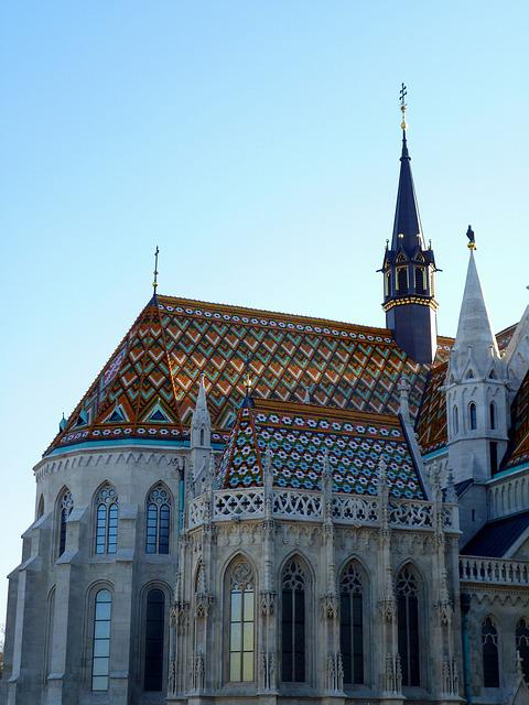 Budapest, Buda, Castle Area, Matthias Church