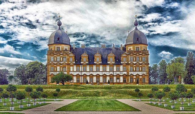 Bamberg, Germany, Seehof, Palace, Castle, Building