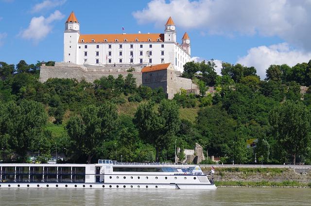 Bratislava, Slovakia, Castle, Danube, Views, City