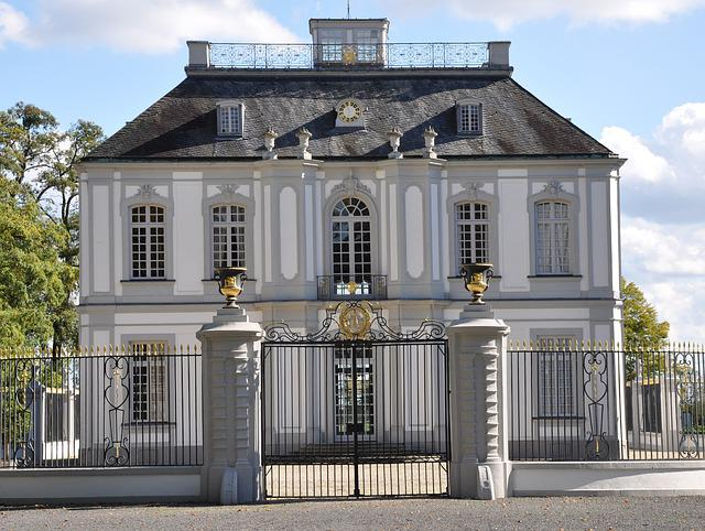 Castle, Falkenlust, Hunting Lodge, Brühl, Architecture