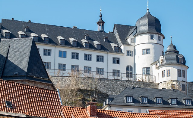 Architecture, Roof, Castle, Old, House, Building