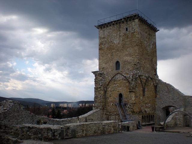 Castle, Castle Of Diósgyőr, Miskolc Hungary, Monument