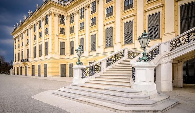 Vienna, Schönbrunn, Castle, Castle Park, Architecture