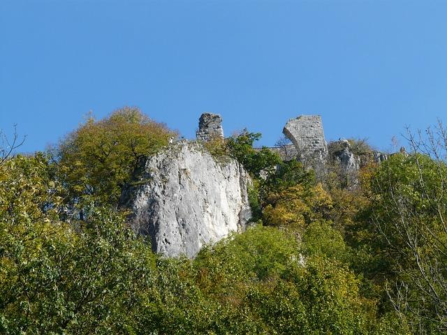 Ruin Hohengerhausen, Ruin, Castle, Castle Ruin