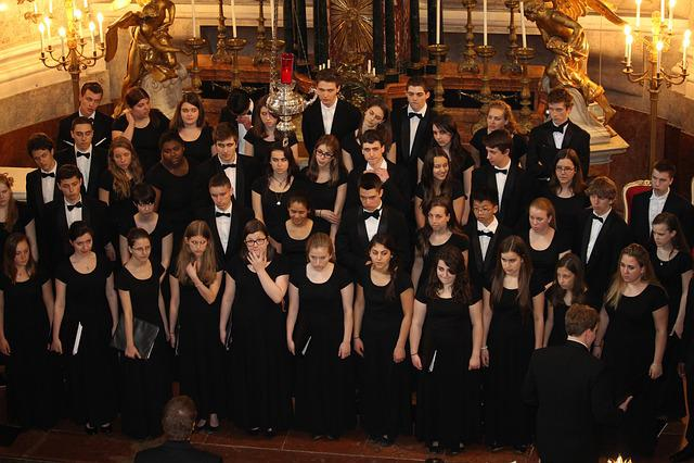 Choir, Church Choir, Sing, Schönbrunn, Chapel, Castle