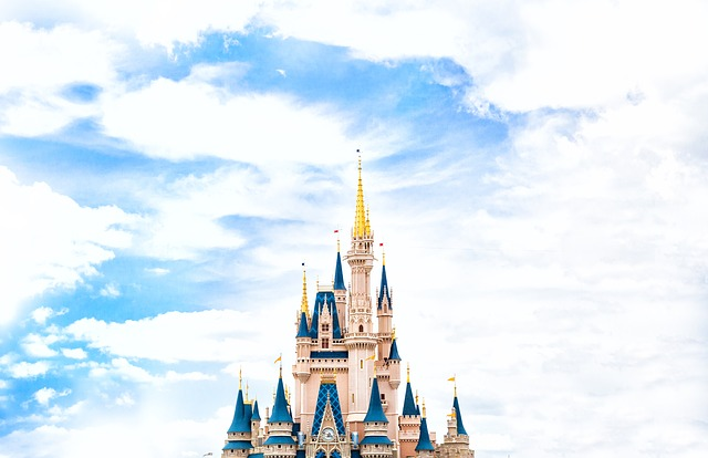 Architecture, Castle, Cinderella Castle, Disney World