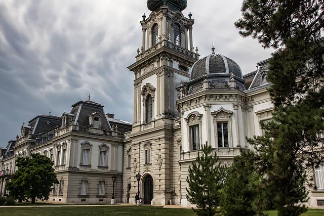 Keszthely, Castle Festetics, Hungary, History