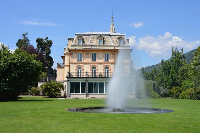 Fairy Castle, Fairy Tales, Castle, Fountain, Fontaine