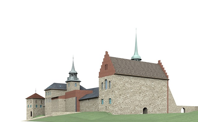 Fortress, Akershus, Architecture, Building, Castle