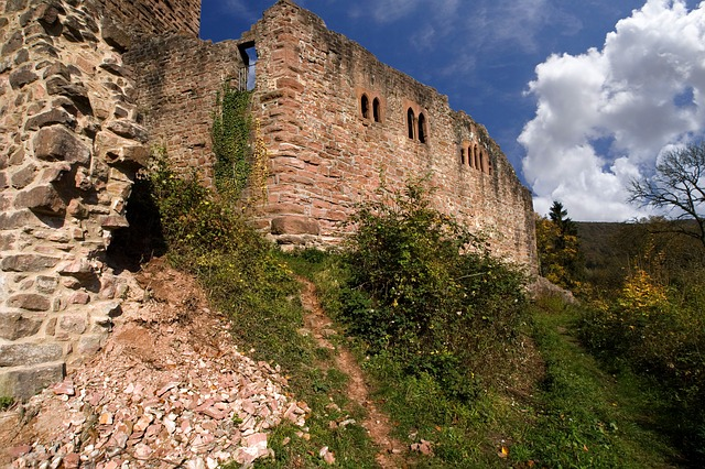 Neckarsteinach, Castle, Ruin, Fortress, Middle Ages