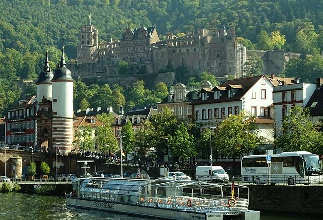 Heidelberg, Castle, Neckar, Germany, Historically