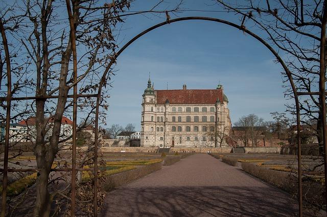 Castle, Mecklenburg, Güstrow