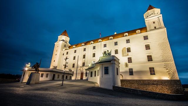 Bratislava, Castle, Castle Hill, Slovakia, Old