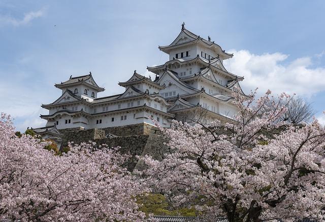 Heritage, Japan, Castle, Himeji, White, Heron, History