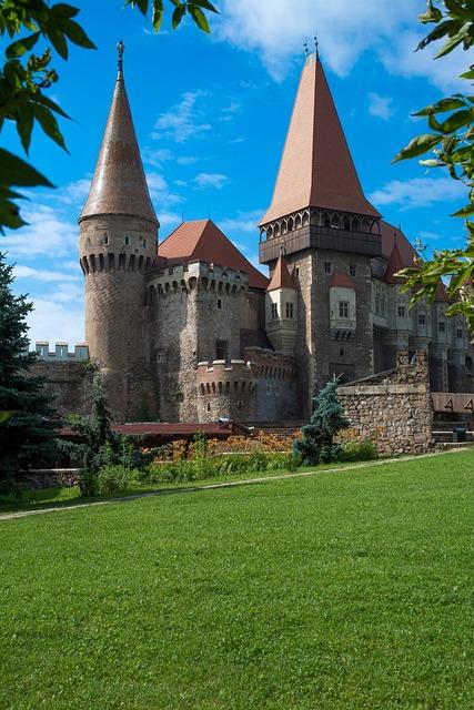 Castle Iron Market, Romania, Castle, Hunedoara